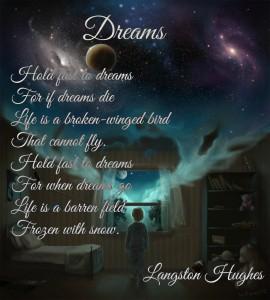 Dreams by Langston Hughs